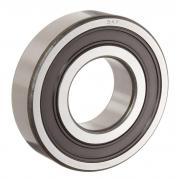 6301-2RSH/C3GJN SKF Sealed High Temperature Deep Groove Ball Bearing 12x37x12mm