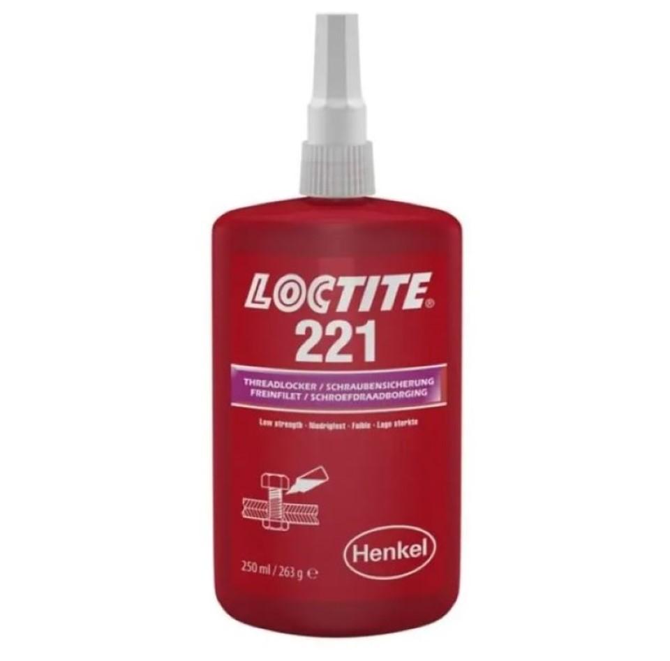 Loctite 221 Screwlock 250ml image 2