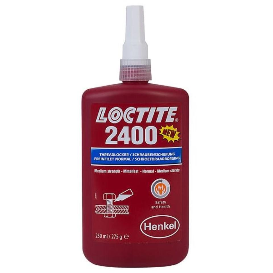 Loctite 2400 Health & Safety Friendly Medium Strength 250ml