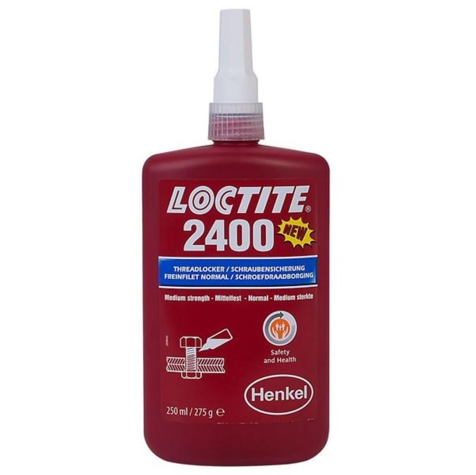 Loctite 2400 Health & Safety Friendly Medium Strength 250ml image 2