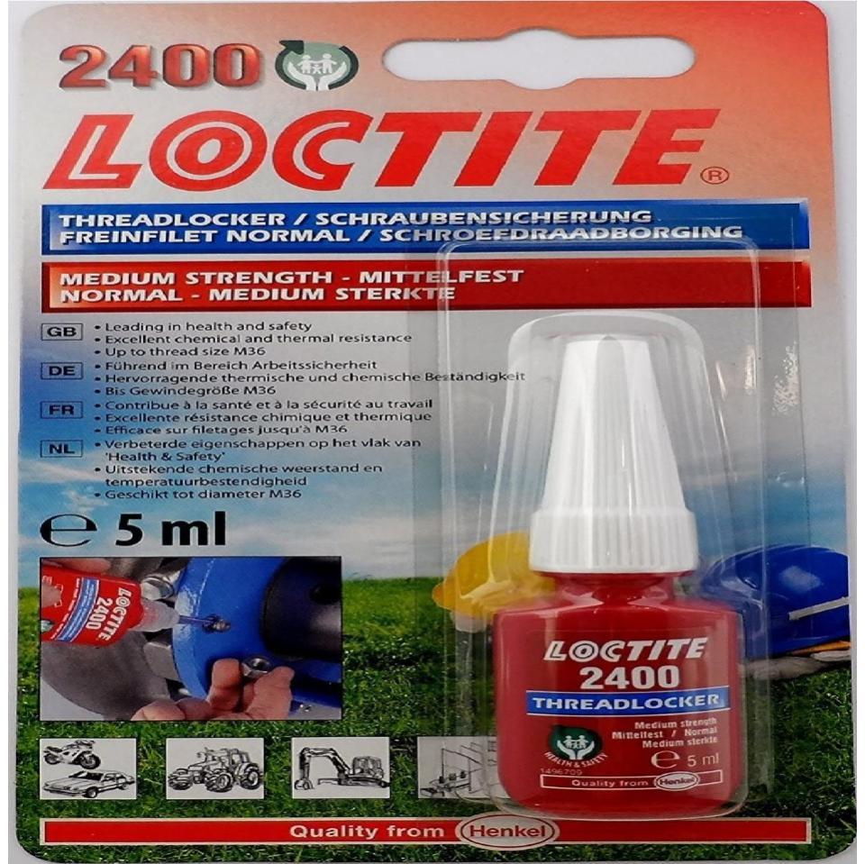 Loctite 2400 Health & Safety Friendly Medium Strength 5ml