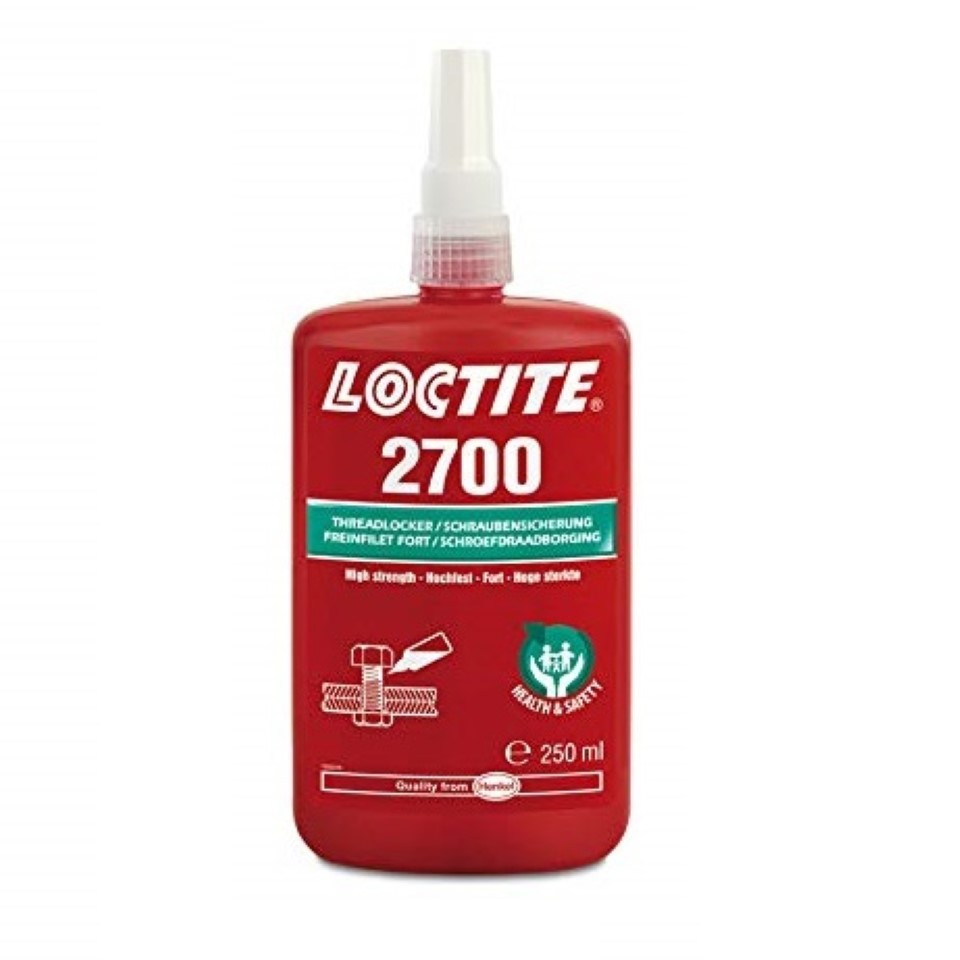 Loctite 2700 Health & Safety Friendly High Strength 250ml image 2