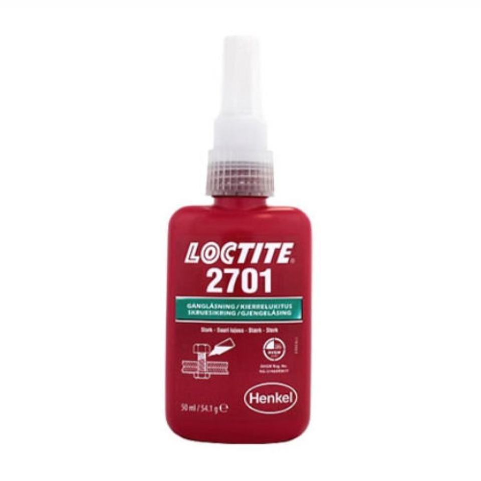 Loctite 2701 High Strength Oil Resisitant 50ml