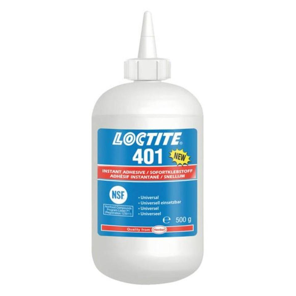 Loctite 401 Instant Bonding 500g image 2