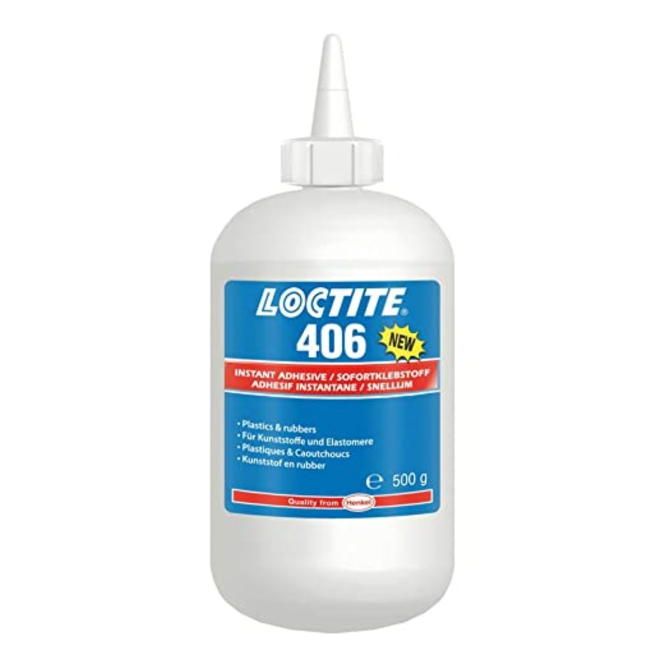 Loctite 406 Instant Bonding 500g image 2