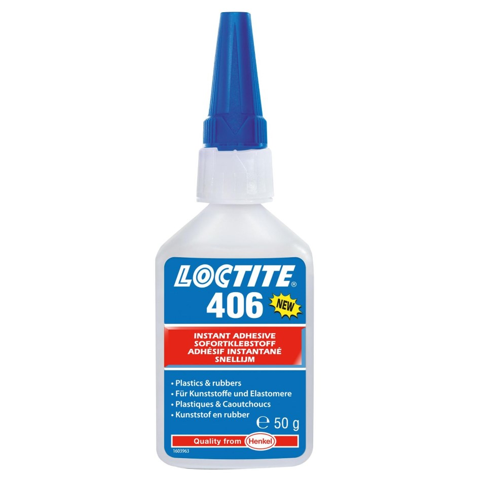 Loctite 406 Instant Bonding 50g image 2