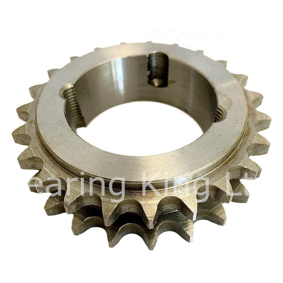 38 Tooth 06B Duplex Taper Sprocket to suit 3/8 Inch Pitch Chain