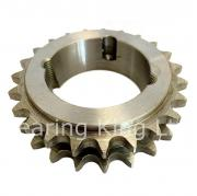 17 Tooth 12B Duplex Taper Sprocket to suit 3/4 Inch Pitch Chain