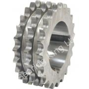 17 Tooth 06B Triplex Taper Sprocket to suit 3/8 Inch Pitch Chain