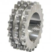 21 Tooth 06B Triplex Taper Sprocket to suit 3/8 Inch Pitch Chain