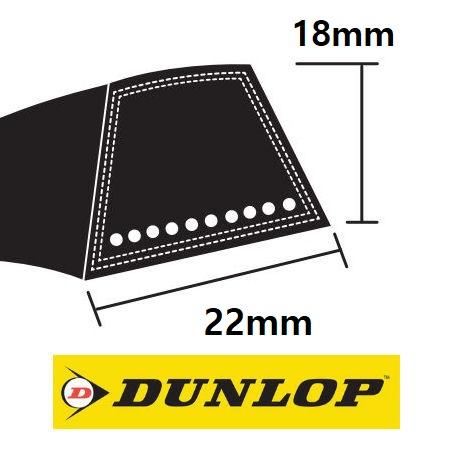 Dunlop SPC Section Wedge Belts 22x18mm photo